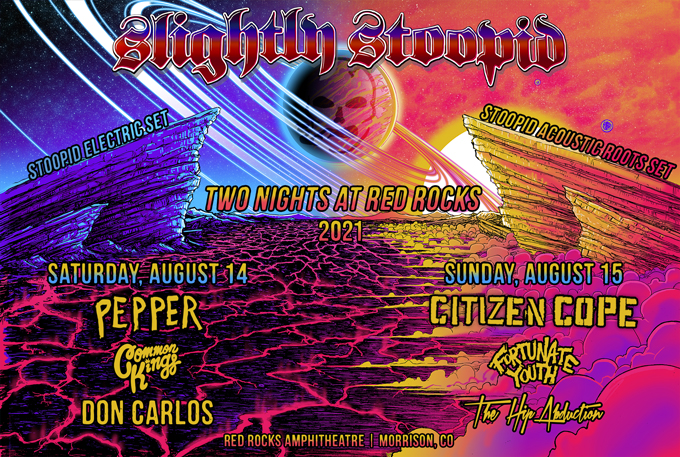 Slightly Stoopid at Red Rocks