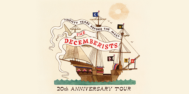 The Decemberists 2020 Tour Header