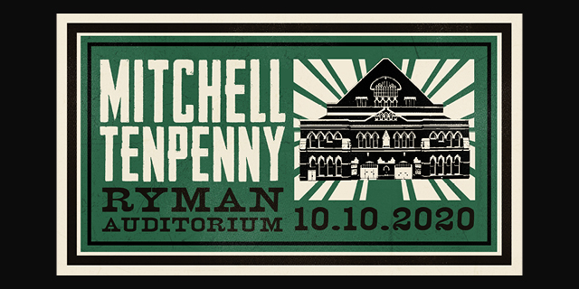 Mitchell Tenpenny Ryman Auditorium 2020 header