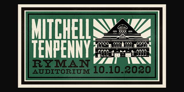 Mitchell Tenpenny Ryman Auditorium 2020 header