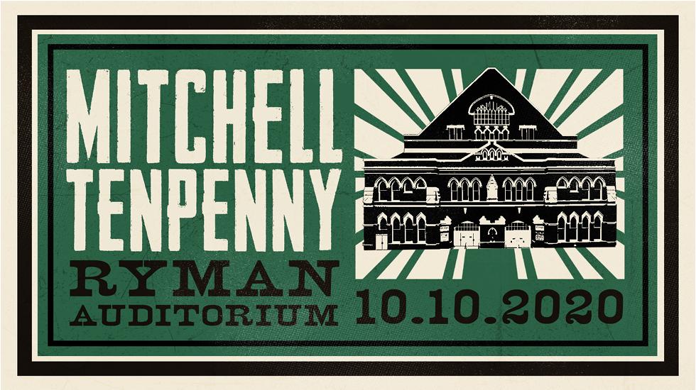 Mitchell Tenpenny at The Ryman