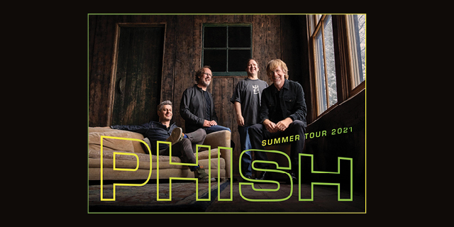 Phish 2021 Tour header