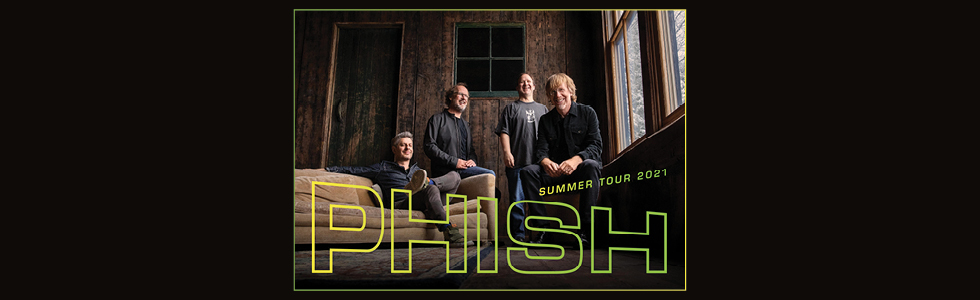 Phish 2021 Tour header
