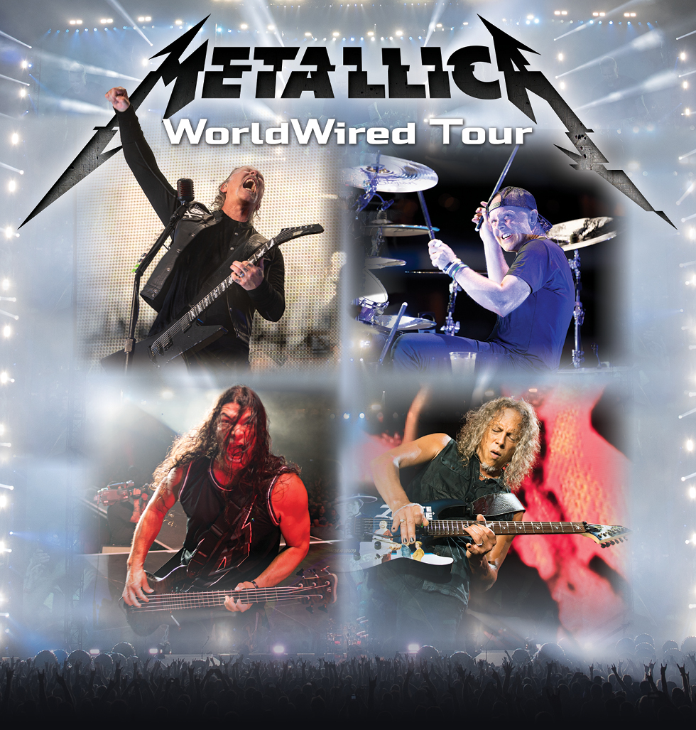 Metallica WorldWired Tour – South America