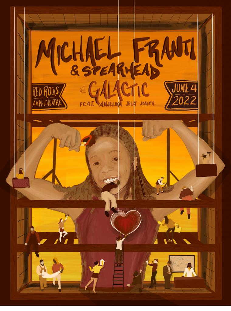 Michael Franti & Spearhead at Red Rocks