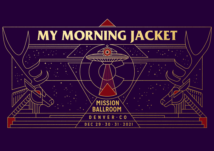 My Morning Jacket New Year's Eve 2021
